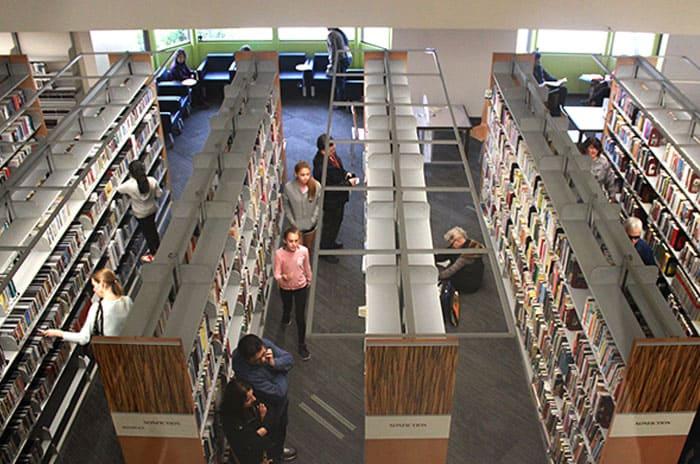 San Ramon Library Interior