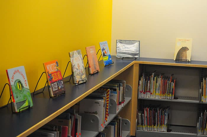 San Ramon Library children's room